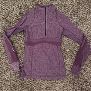 Lululemon half zip pullover jacket top size 6